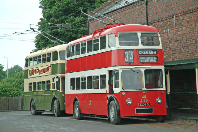 1958 Guy-Sunbeam Arab Trolleybus Belfast