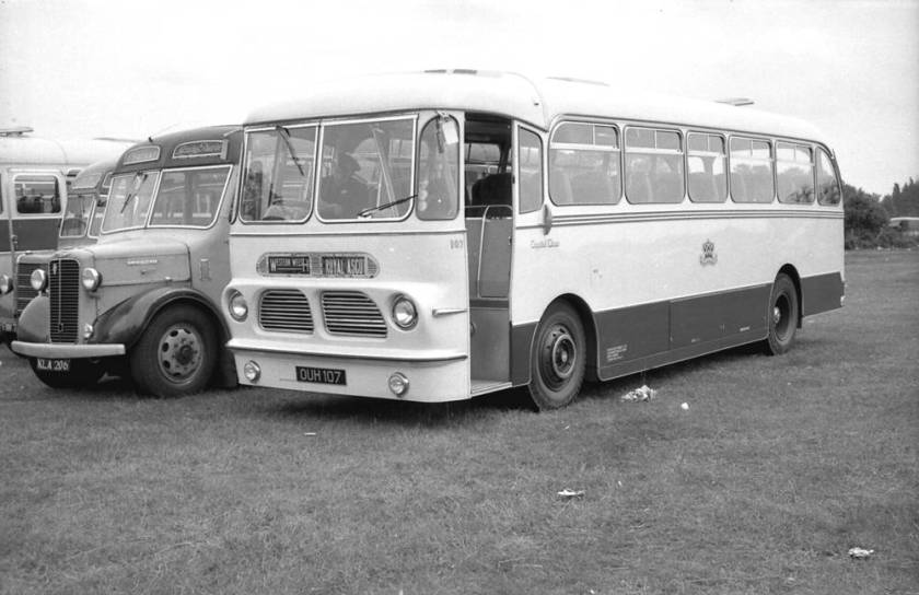 1958 Harrington Wayfarer V C34F bodied AEC MU3RV Reliance