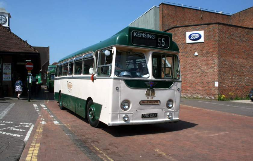 1958 Harrington Wayfarer V C41F bodied A.E.C.