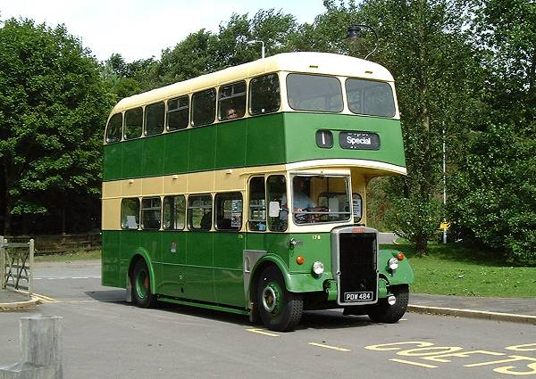 1958 Leyland PD2-40 with Longwell Green H30-28R body