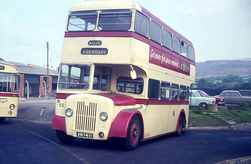 1958 Longwell Green H35-29R bodied Guy Arab IV