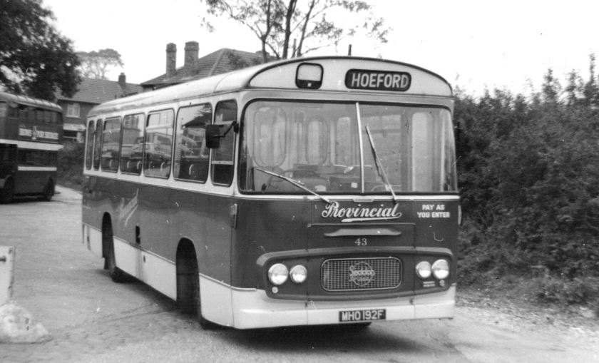 1958 Strachans bodied batch of Seddons