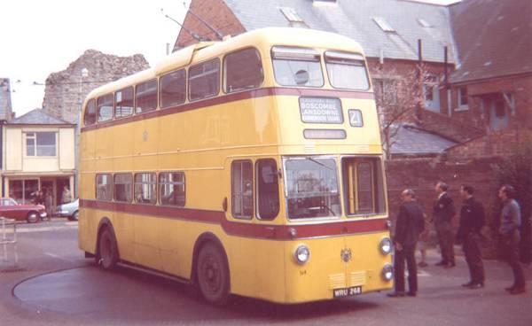1958 Sunbeam MF2B  Weymann H63D