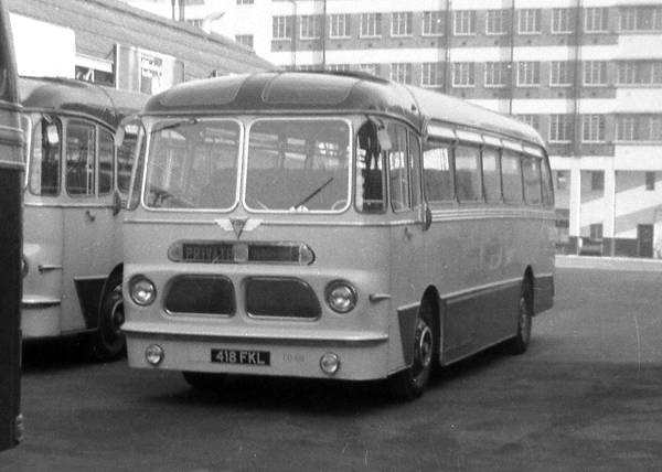 1959 AEC Reliance 2MU3RV with Harrington C41F body