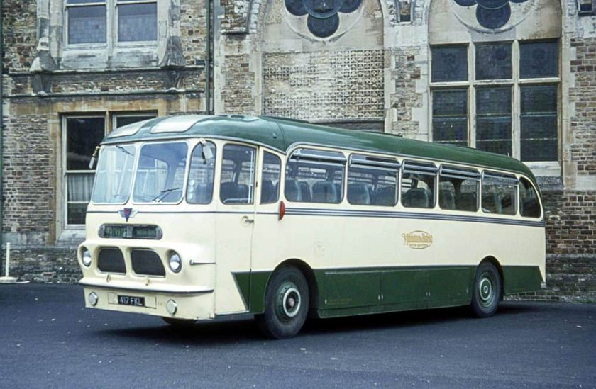 1959 AEC Reliance 2MU3RV with Harrington Mk IV C41F body