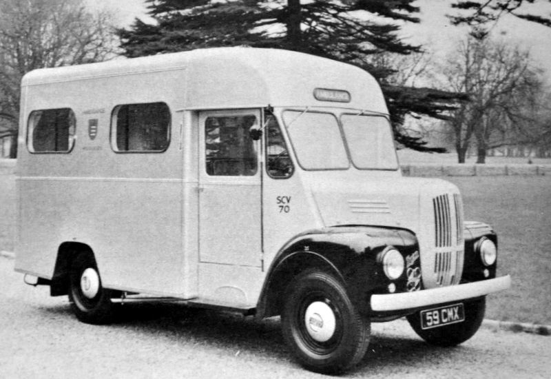 1959 CMX Trojan Ambulance