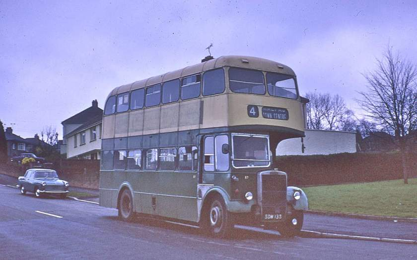 1959 Leyland PD2-40 with a Longwell Green H30-28R body