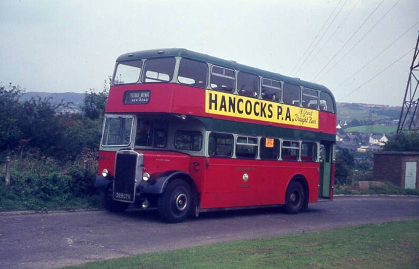 1959 Leyland PD2-40 with Longwell Green L27-28RD body