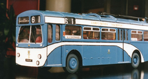 1959 Sunbeam Roe trolleybuses