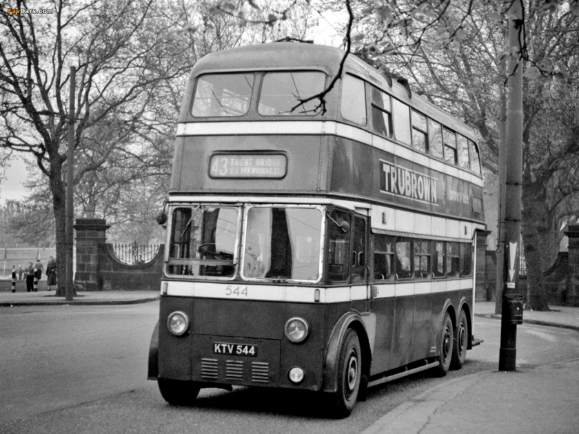 Nottingham Trolleybus 544