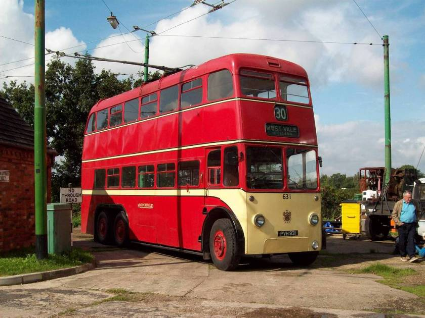 1959 Sunbeam S7A trolleybus with East Lancs H40-32R bodywork