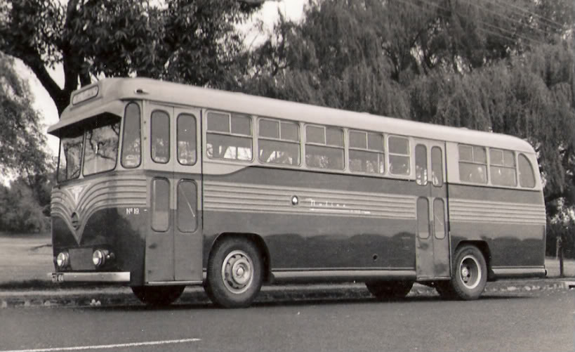 1959 Symons & Fowler body on a Seddon Mark 6 with Perkins P6 diesel engine