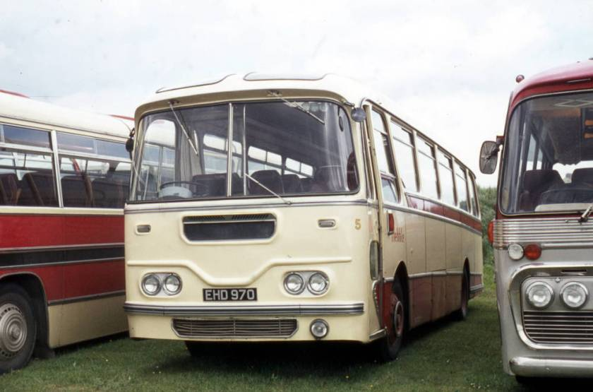 1960 A E C Reliance 2MU3RV built in 1960 with Harrington Cavalier C41F bodywork