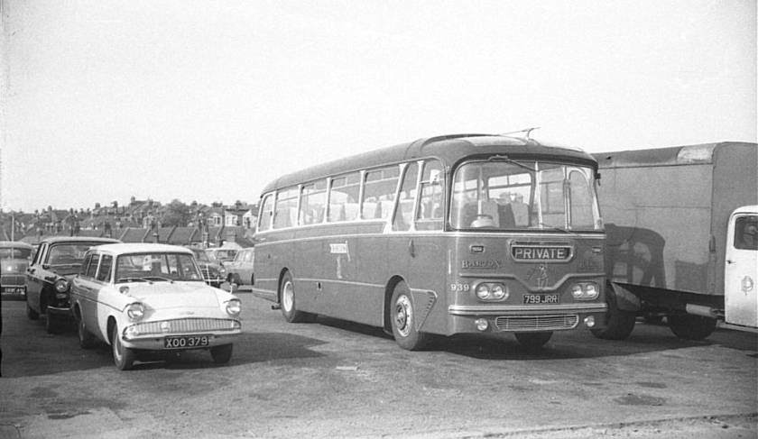 1960 AEC Reliance 2MU3RA with Harrington Cavalier C41F body