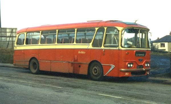1960 AEC Reliance with Harrington Cavalier C41F body