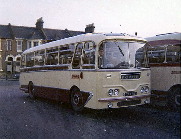 1960 AEC Reliance with superb Harrington Cavalier C41F bodywork