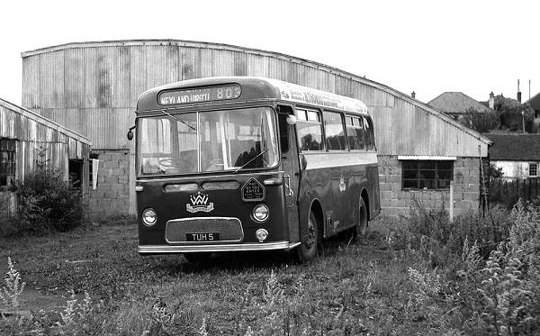 1960 Harrington DP30F bodied Albion Nimbus