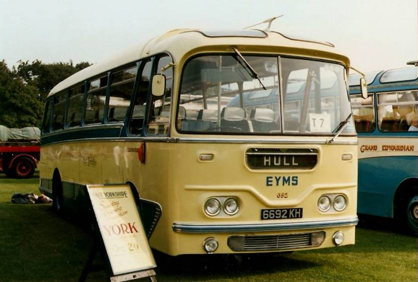 1960 Leyland Leopard PSUC1-2 with Harrington Cavalier body seating 35