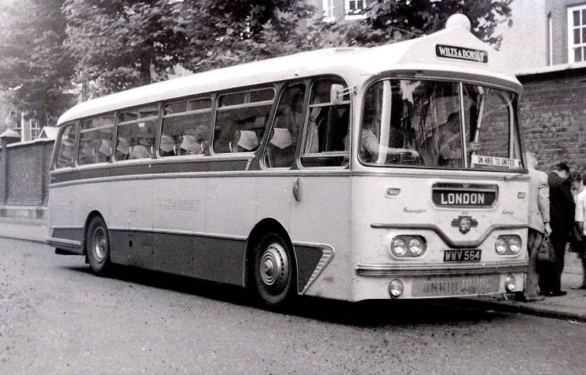 1960 Leyland Leopard with Harrington C41F body