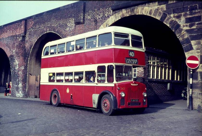 1960 Longwell Green H32-28R bodied Leyland PD2-30