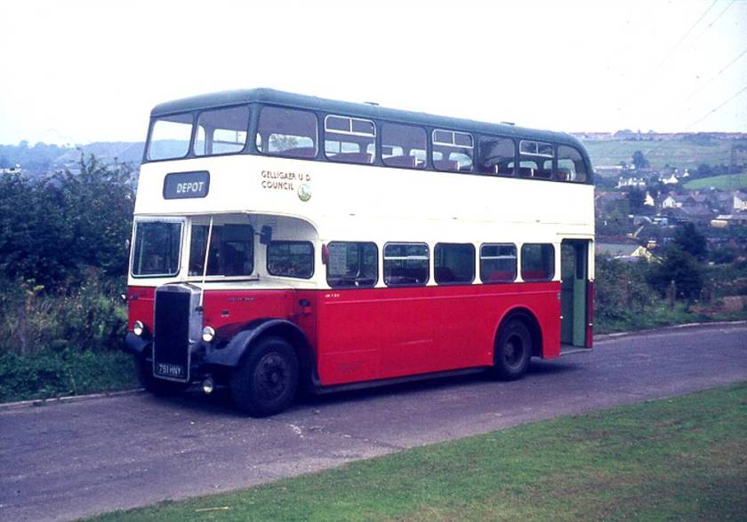 1960 Longwell Green L27-28RD bodied Leyland PD2-40