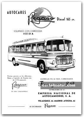 1960 - PEGASO BUS SEIDA