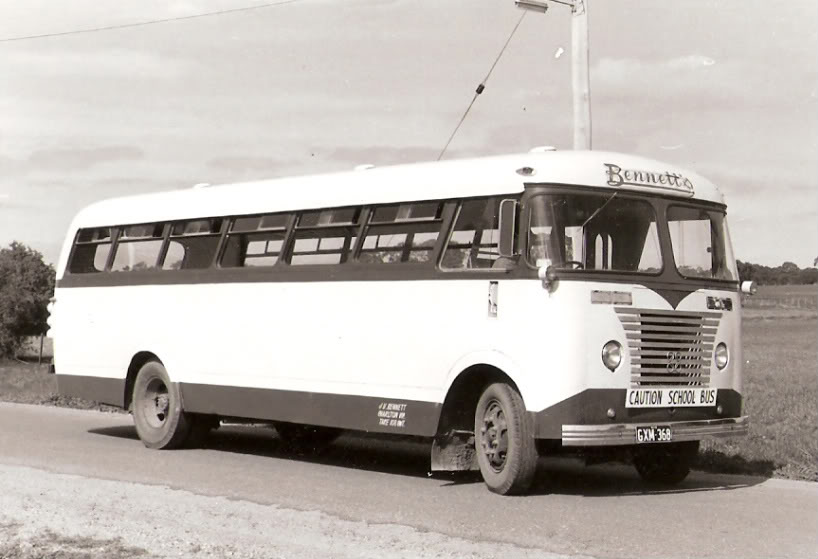 1960 Seddon in Victoria, HEX 226 was new to Bridges of Cheltenham in July 1960 with a 30 seat Cheetham & Borwick bodyGXM368