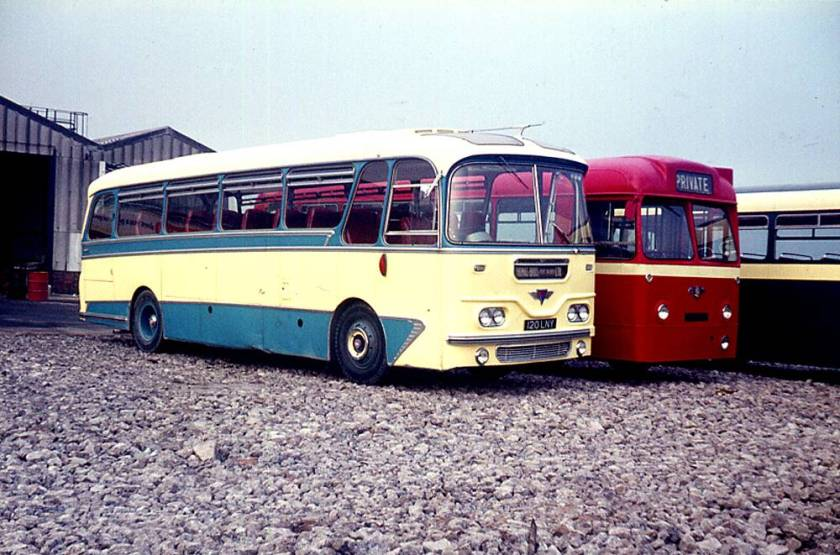 1961 Harrington C41F bodied AEC Reliances