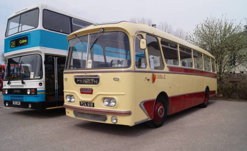 1961 Leyland Leopard L1 with a Harrington Cavalier body