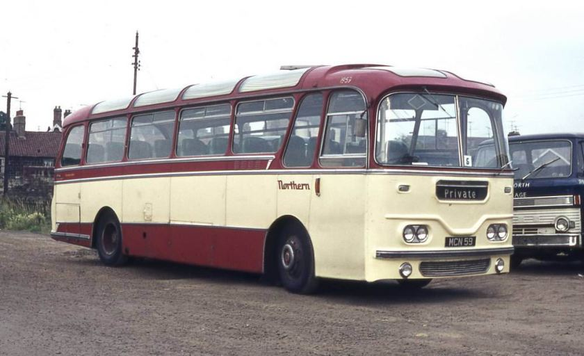 1961 Leyland Leopard L2 with Harrington Cavalier C37F bodywork
