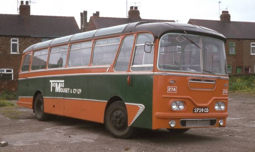 1961 Leyland Leopard L2 with Harrington Cavalier C39F bodywork