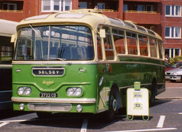 1961 Leyland Leopard L2T fitted with the stylish Harrington Cavalier coachwork