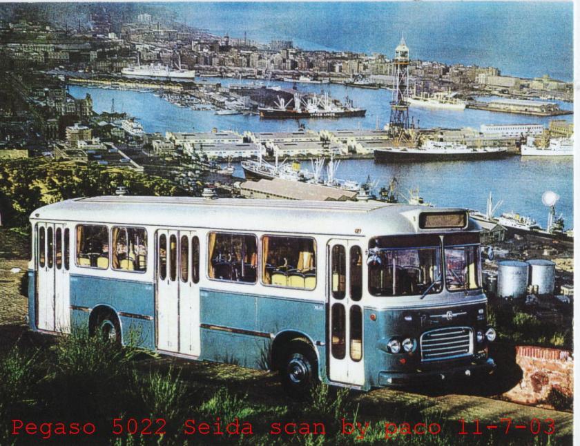 1961 Pegaso flota tb1168 seida 9 g