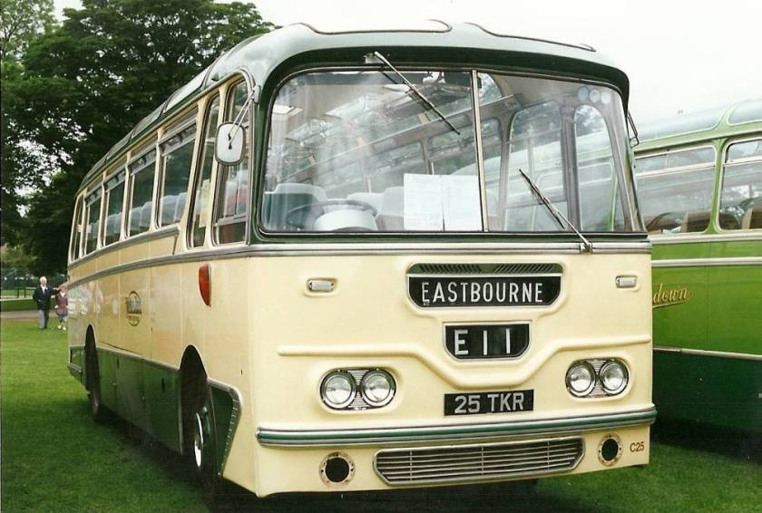 1962 AEC Reliance 2MU3RV with Harrington 37 seat bodywork