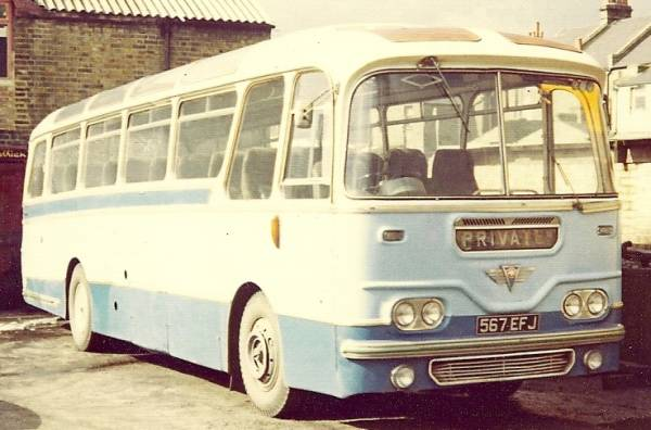 1962 AEC Reliance with Harrington Cavalier body