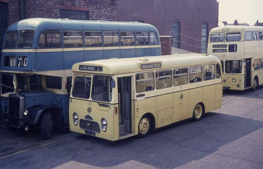1962 Albion Nimbus NS3N with Strachan DP31F body