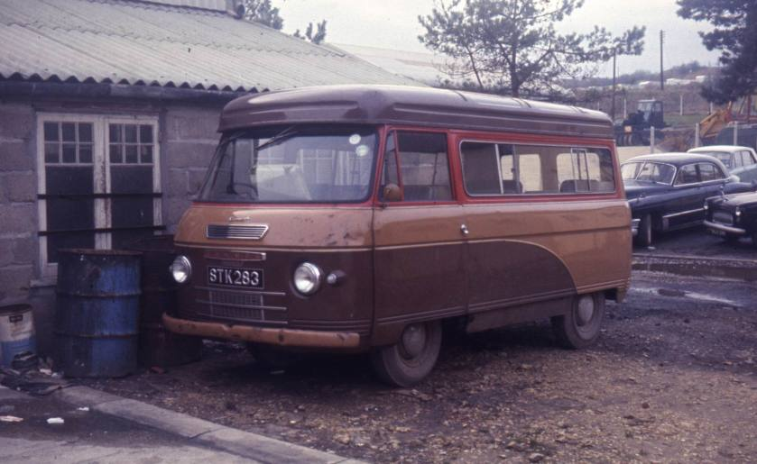 1962 Commer 1500 with a 12 seated Kenex body