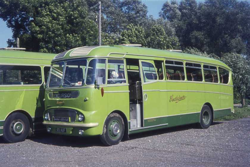 1962 Commer Avenger IV with Harrington Crusader C35F body