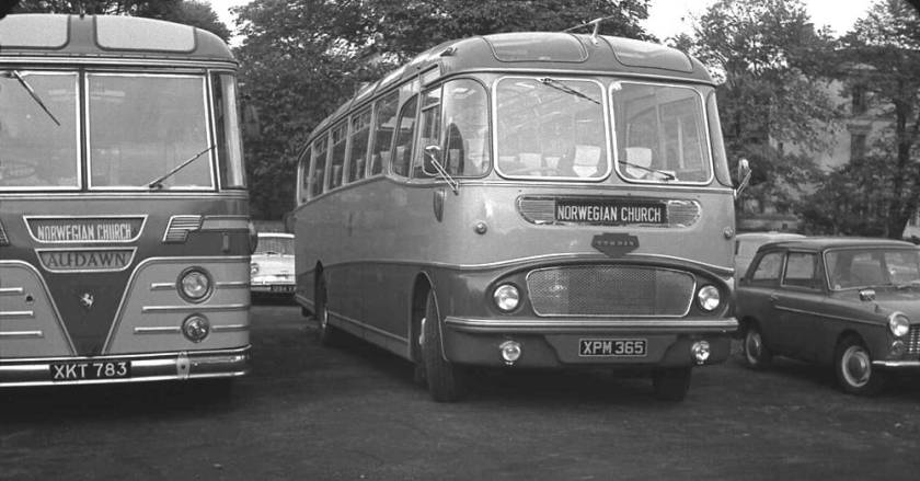 1962 Harrington Crusader I C41F bodied Commer Avenger IV. XPM365