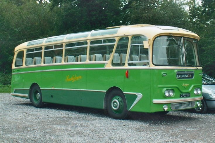 1962 Leyland Leopard with Harrington Cavalier C41F