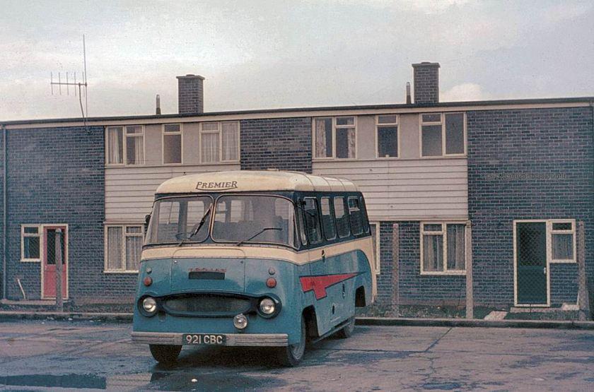 1962 Premier of Stainforth, Trojan minibus 921CBC