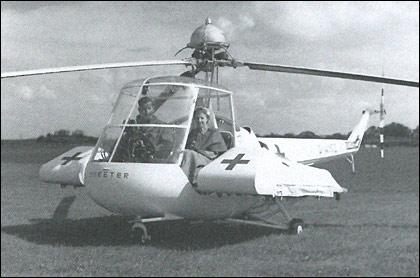 1962 Saunders-Roe W.14 Skeeter