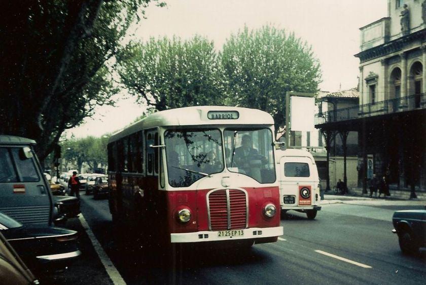 1962 Somua OP53,ex RATP,en vadrouille dans les Bouches du Rhone