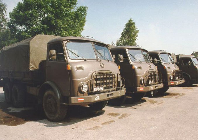 1962 STEYR 680 TRANSPORT DE TROUPES