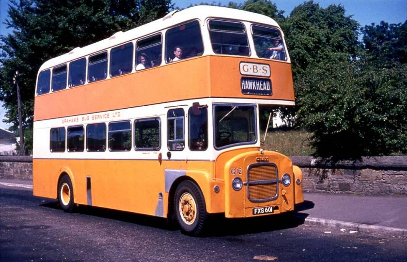 1962 Strachan H37-32RD bodied Guy Arab IV