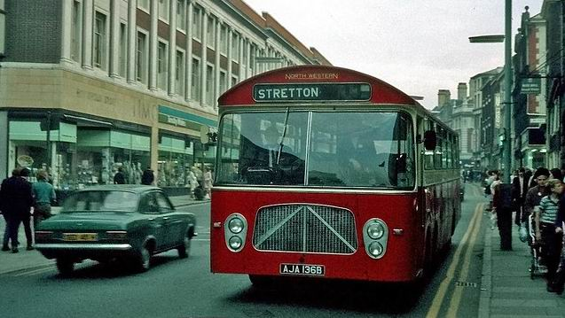 1962 Strachans bodied Bedford VAL