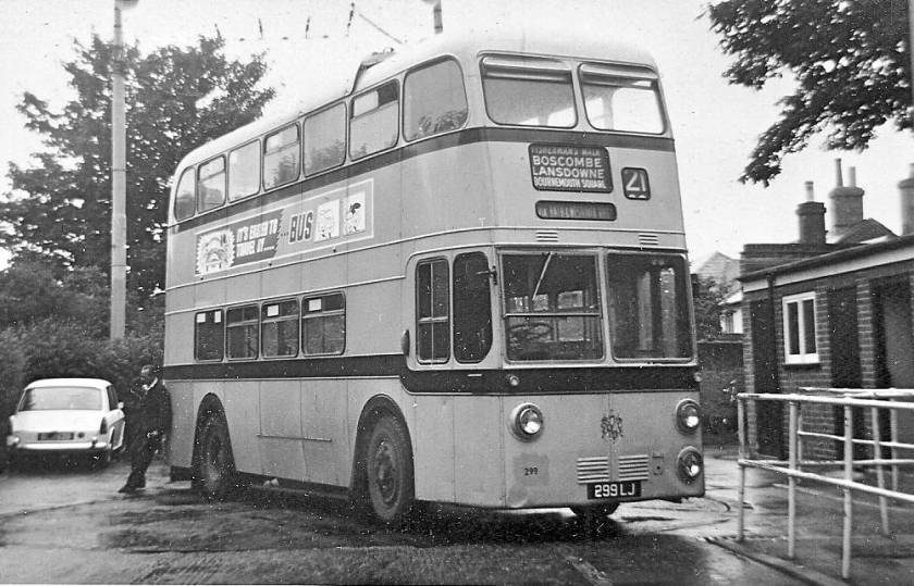 1962 Sunbeam trolleybus with Weymann bodywork a