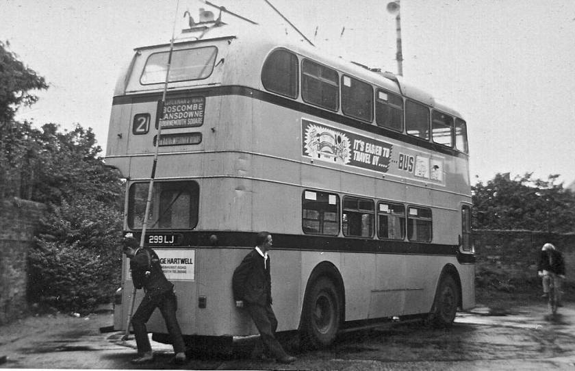 1962 Sunbeam trolleybus with Weymann bodywork