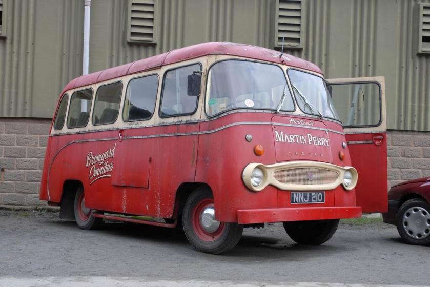 1962 Trojan bus NNJ210