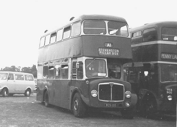 1963 AEC Regent V One of a trio delivered to members of the co-operative all carried this unusual and rare Strachans bodywork